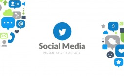 007 Stunning Social Media Ppt Template Free Photo  Download Report Powerpoint