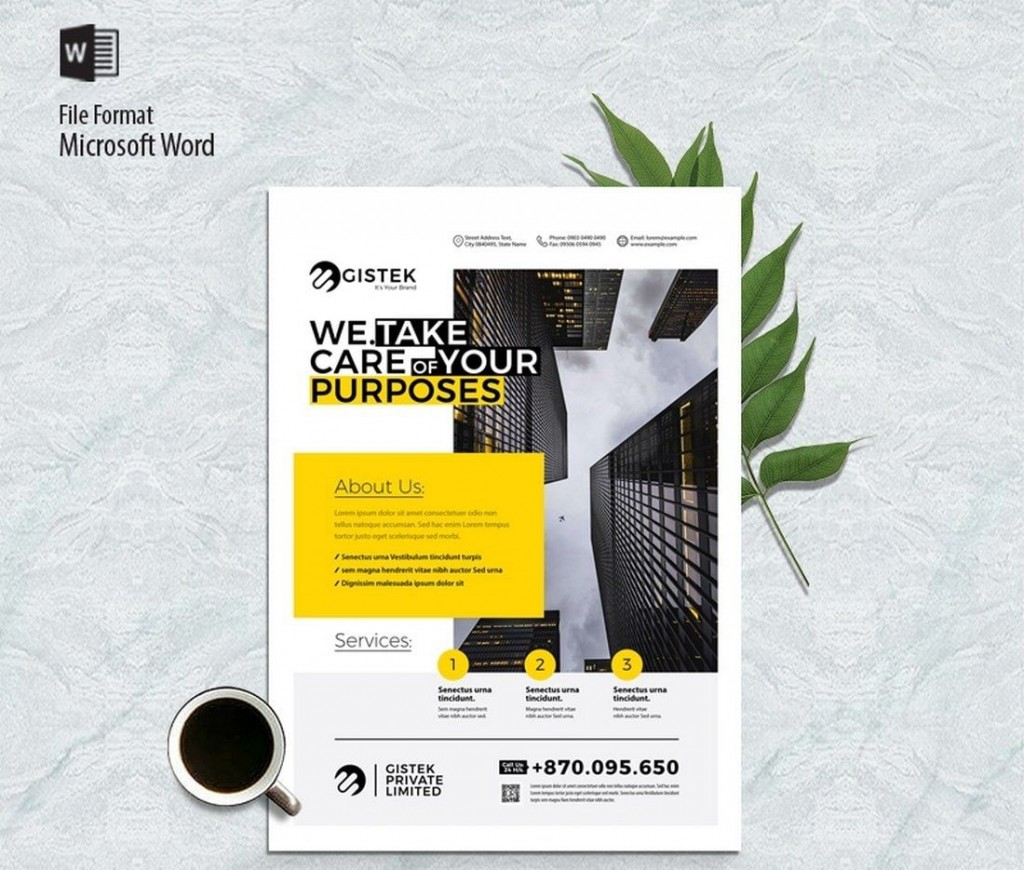 007 Stunning Template Brochure For Microsoft Word Free Sample  Flyer Bowling Tri Fold 2010Large