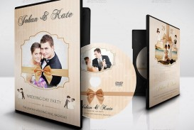 007 Stunning Wedding Cd Cover Design Template Free Download Picture