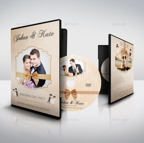 007 Stunning Wedding Cd Cover Design Template Free Download Picture 480