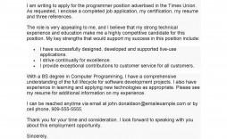007 Stupendou Cover Letter Writing Sample Idea  For Technical Job Example Creative