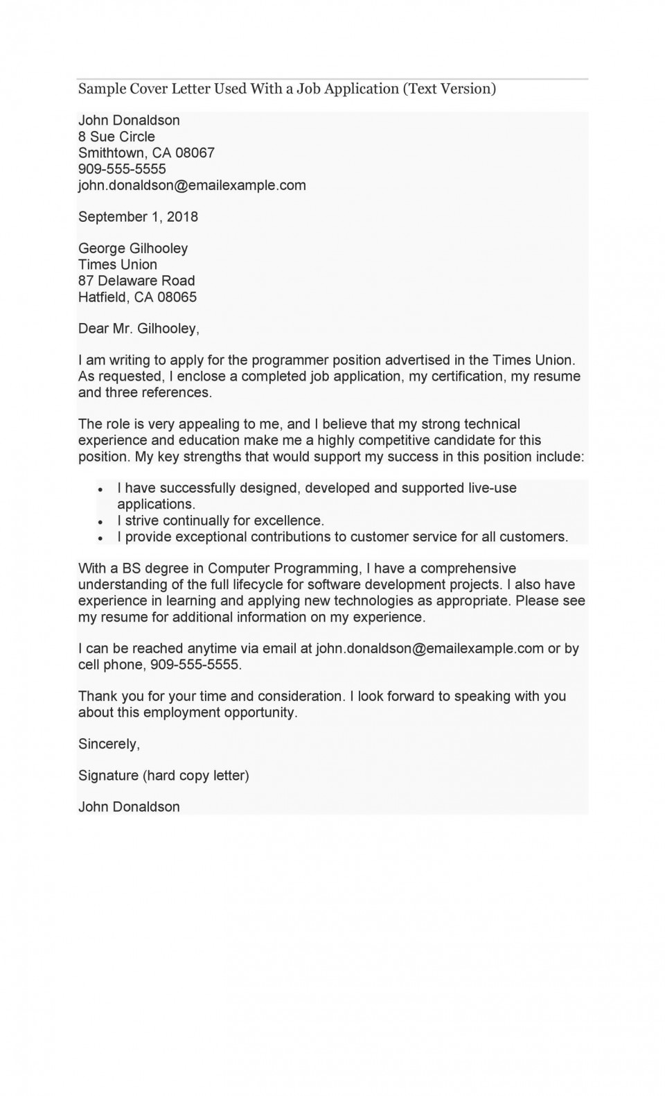 007 Stupendou Cover Letter Writing Sample Idea  Example For Content Job Resume960