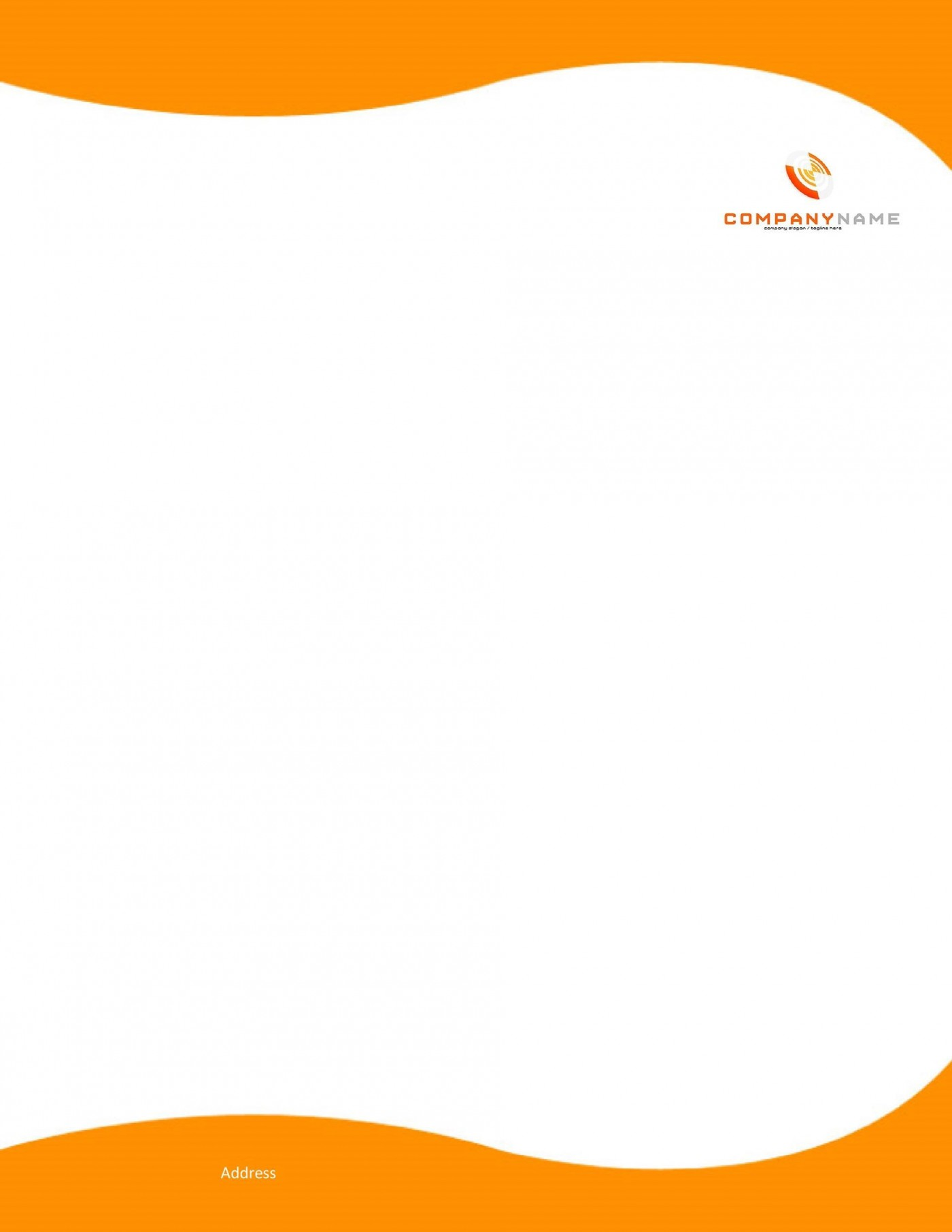 007 Stupendou Letterhead Template Free Download Word Concept  Microsoft Format In Personal Red1400