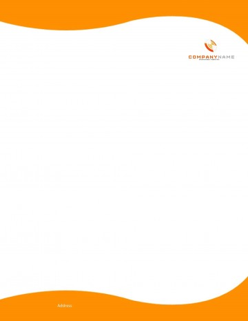 007 Stupendou Letterhead Template Free Download Word Concept  Microsoft Format In Personal Red360