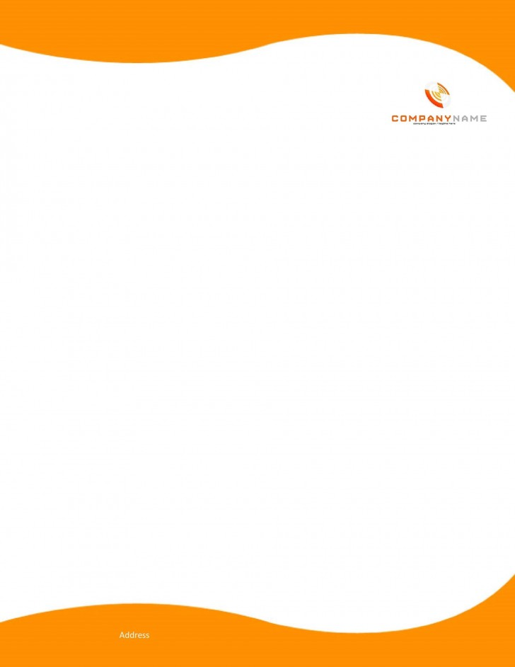007 Stupendou Letterhead Template Free Download Word Concept  Microsoft Format In Personal Red728