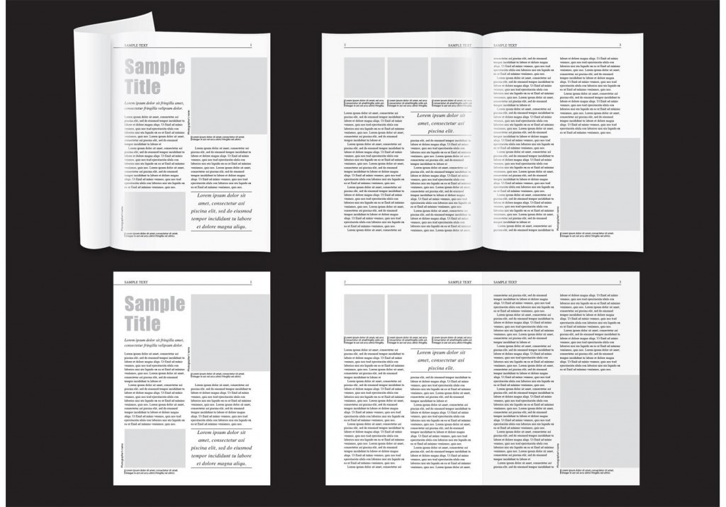 007 Stupendou Magazine Layout Template Free Download Word Concept Large