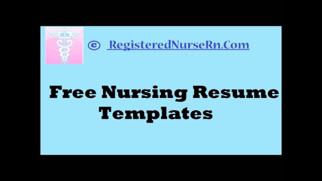007 Stupendou Nurse Resume Template Word Design  Cv Free Download RnLarge