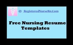 007 Stupendou Nurse Resume Template Word Design  Cv Free Download Rn