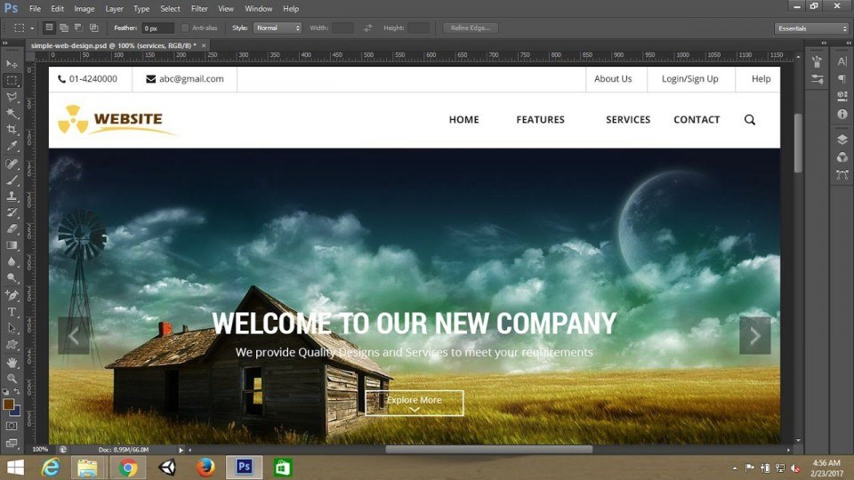 007 Stupendou Simple Web Page Template Inspiration  Html Website Free Download In Design Using And Cs960