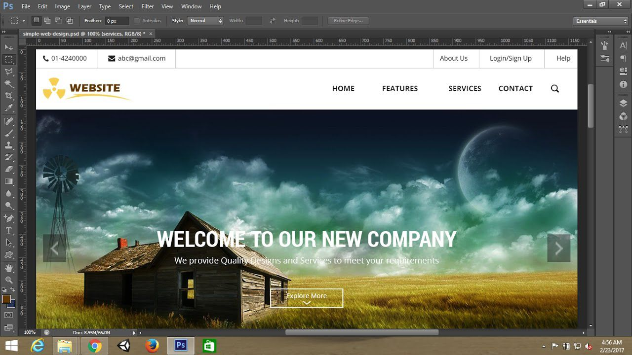 007 Stupendou Simple Web Page Template Inspiration  Free Download Html CodeFull