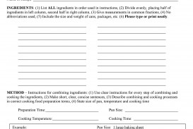 007 Surprising Create Your Own Cookbook Template Highest Clarity  Make Free My