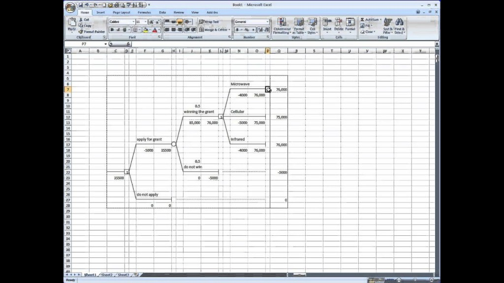 007 Surprising Decision Tree Template Excel 2016 High Resolution Large