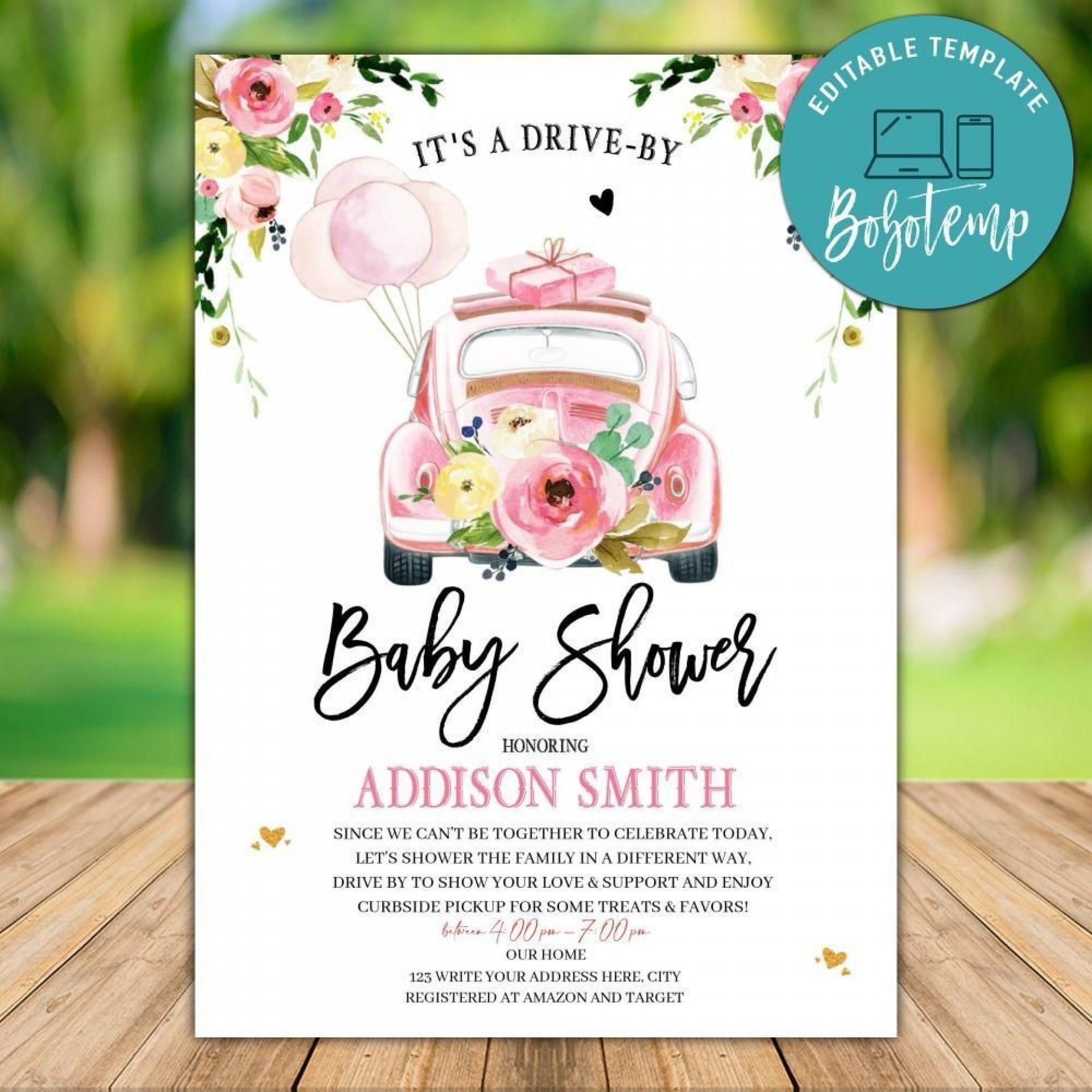 007 Surprising Diy Baby Shower Invitation Template Inspiration  Templates Diaper Free1920