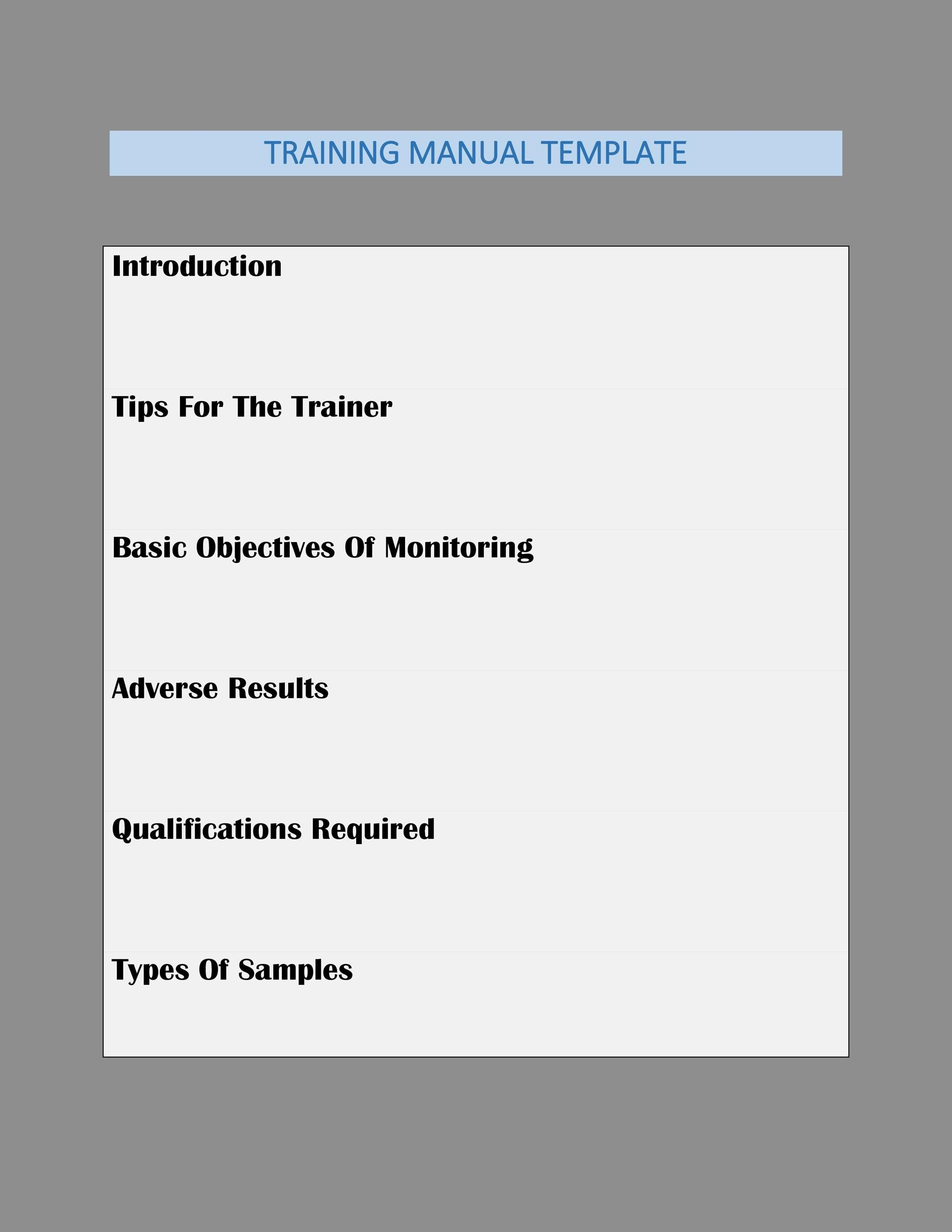 007 Surprising Employee Training Manual Template High Def  New Hire ExampleFull