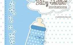 007 Surprising Free Baby Shower Invitation Boy Example  For Twin And Girl Printable