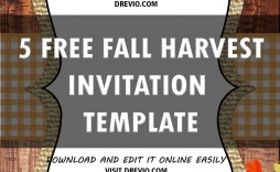 007 Surprising Free Fall Invitation Template Printable High Definition  Wedding For Microsoft Word Halloween