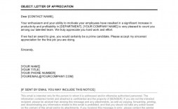 007 Surprising Letter Of Appreciation Template Inspiration  Example Employee Usmc Format For The
