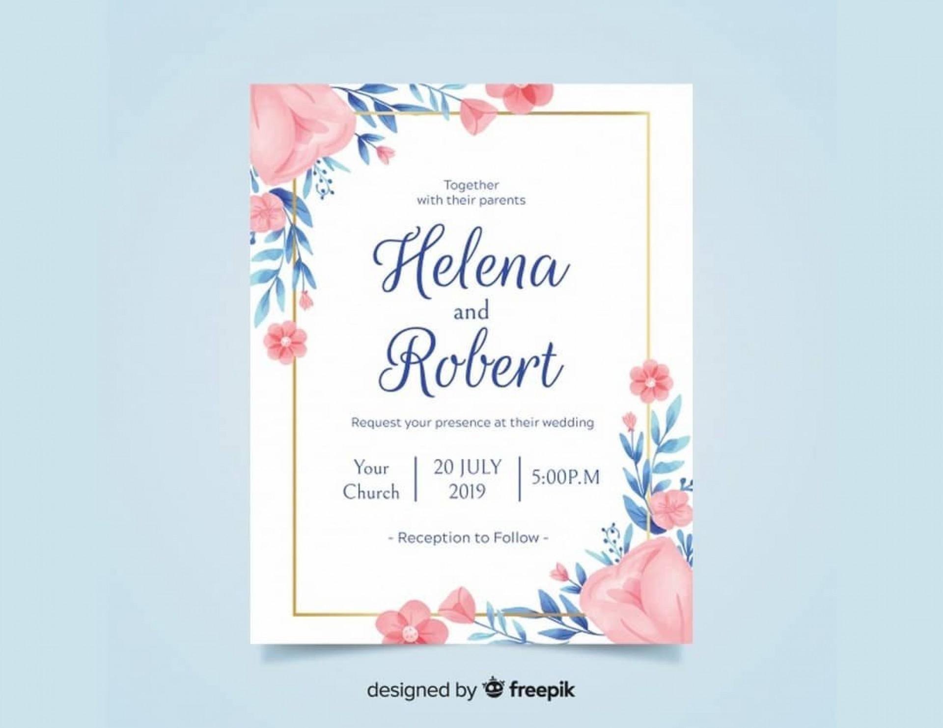 007 Surprising Microsoft Word Wedding Invitation Template Free Download Highest Clarity  M Editable1920