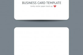 007 Surprising Plain Busines Card Template Inspiration  White Free Download Blank Printable Word 2010