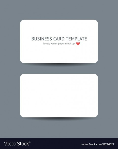 007 Surprising Plain Busines Card Template Inspiration  White Free Download Blank Printable Word 2010480