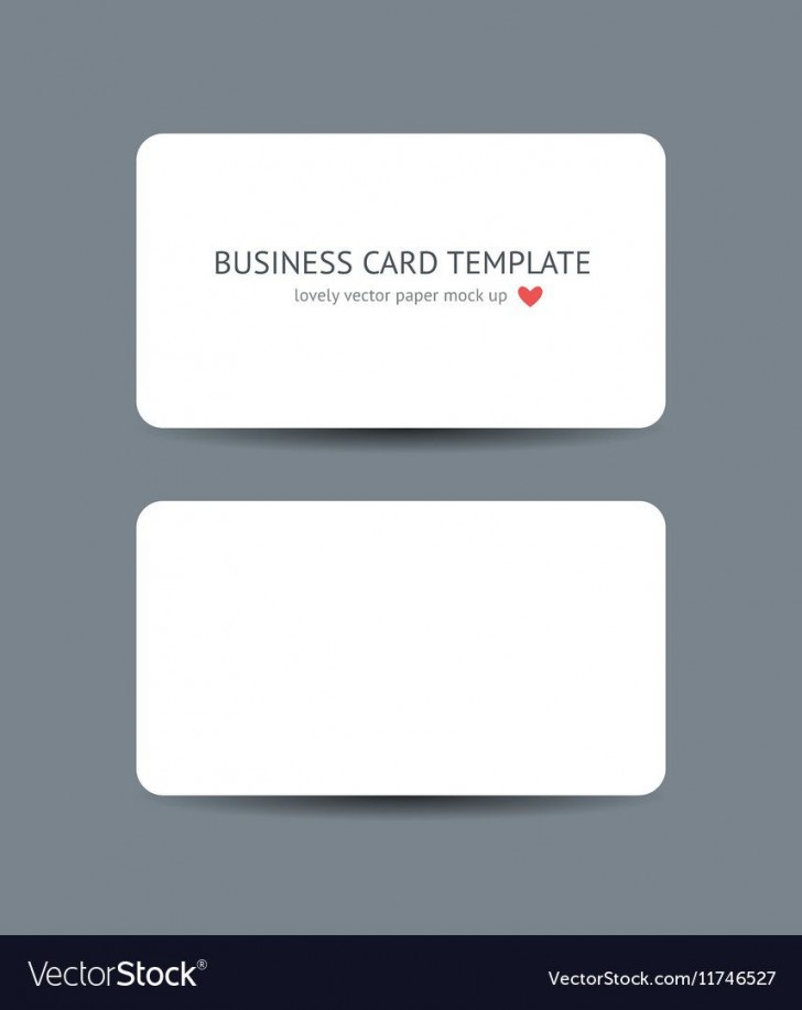 007 Surprising Plain Busines Card Template Inspiration  White Free Download Blank Printable Word 2010728