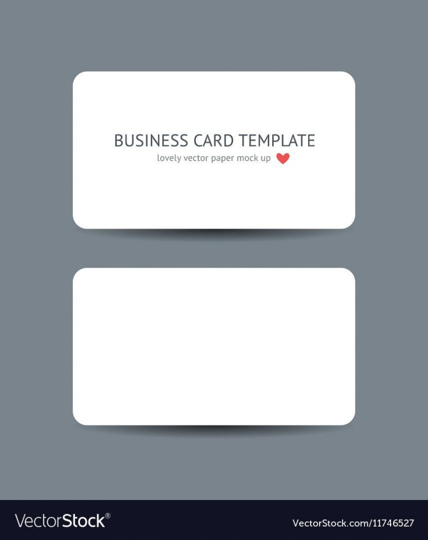 007 Surprising Plain Busines Card Template Inspiration  White Free Download Blank Printable Word 2010868