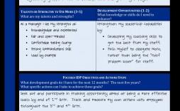 007 Surprising Professional Development Plan Template Pdf Picture  Sample Example