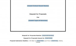 007 Surprising Request For Proposal Template Canada High Resolution