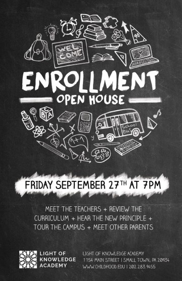007 Surprising School Open House Flyer Template High Definition  Elementary Free Word360