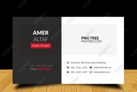 007 Surprising Simple Visiting Card Design Free Download Concept  Busines Psd File