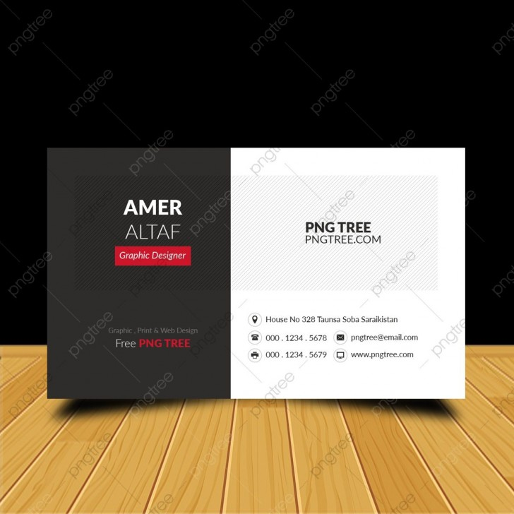 007 Surprising Simple Visiting Card Design Free Download Concept  Busines Psd File728