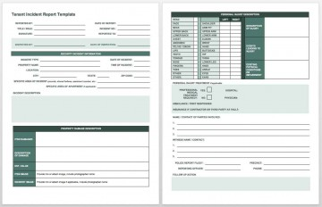 007 Surprising Workplace Injury Report Form Template Ontario Example 360