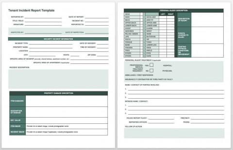 007 Surprising Workplace Injury Report Form Template Ontario Example 480