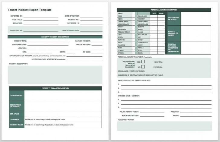 007 Surprising Workplace Injury Report Form Template Ontario Example 728
