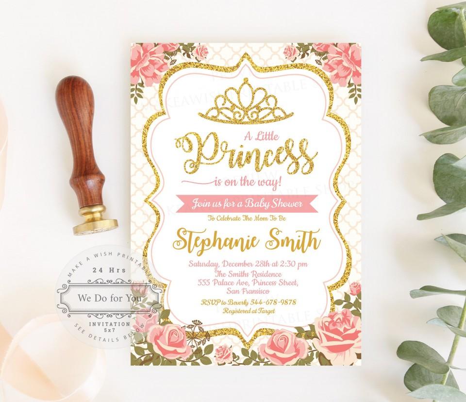 007 Top Baby Shower Invitation Girl Printable Inspiration 960