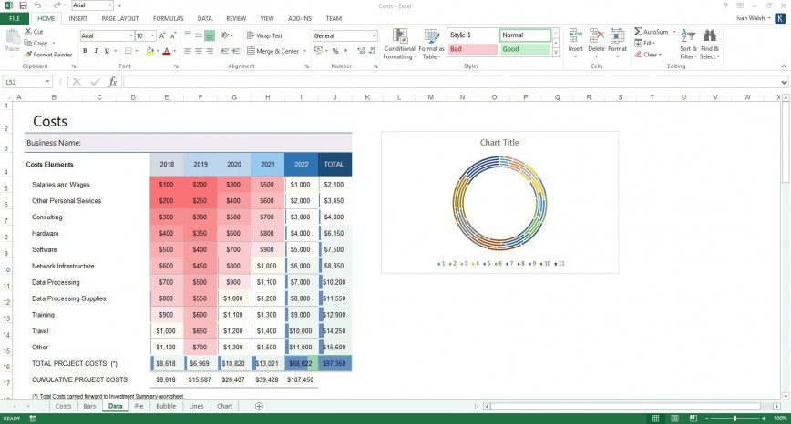 007 Top Busines Plan Excel Template Example  Startup Free Uk