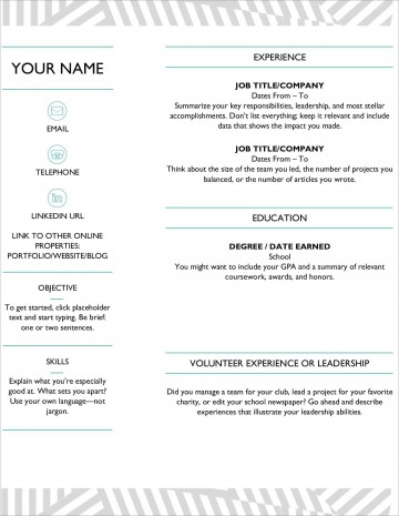 007 Top Download Resume Template Microsoft Word Concept  Free 2007 2010 Creative For Fresher360