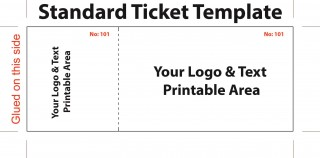 007 Top Editable Ticket Template Free Sample  Concert Word Irctc Format Download Movie320