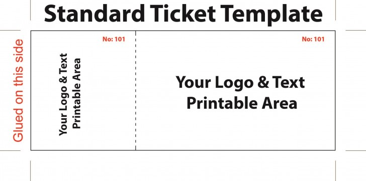 007 Top Editable Ticket Template Free Sample  Concert Word Irctc Format Download Movie728