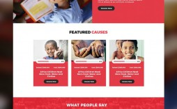 007 Top Free Non Profit Website Template Inspiration  Templates Organization Charity