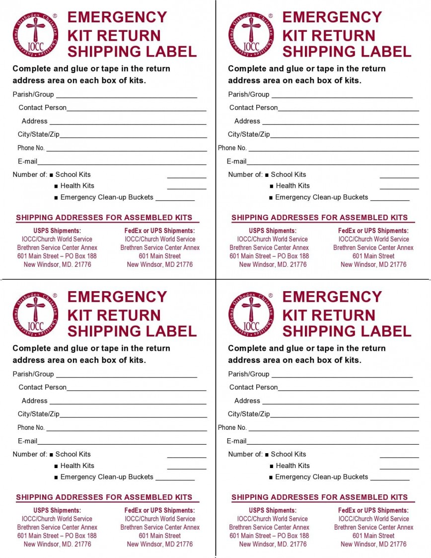 007 Top Free Online Shipping Label Template Example 868