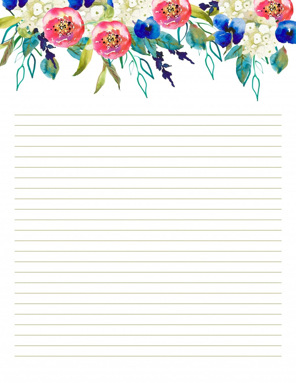 007 Top Free Printable Stationery Paper Template Design  TemplatesLarge