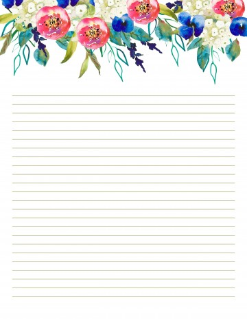 007 Top Free Printable Stationery Paper Template Design 360