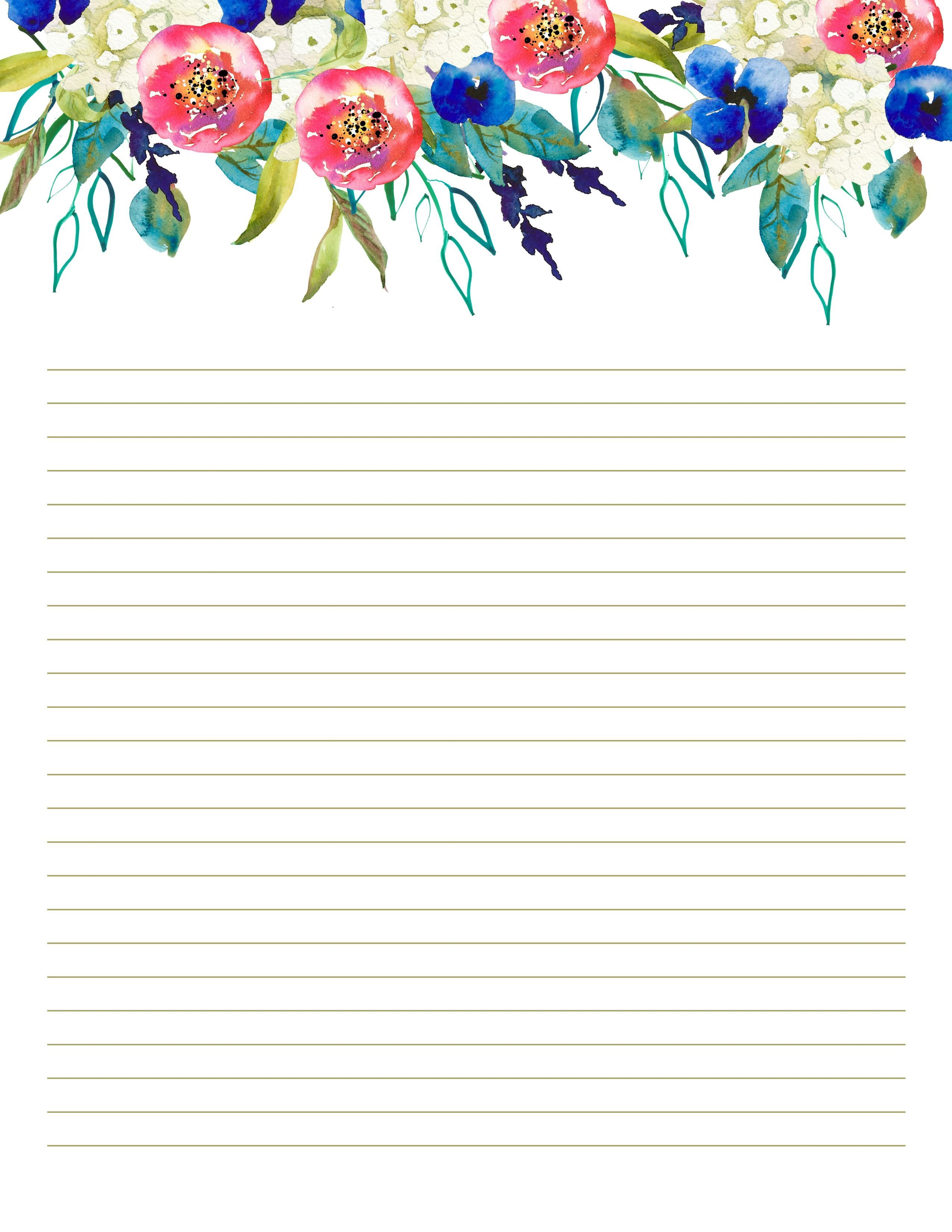 007 Top Free Printable Stationery Paper Template Design  TemplatesFull