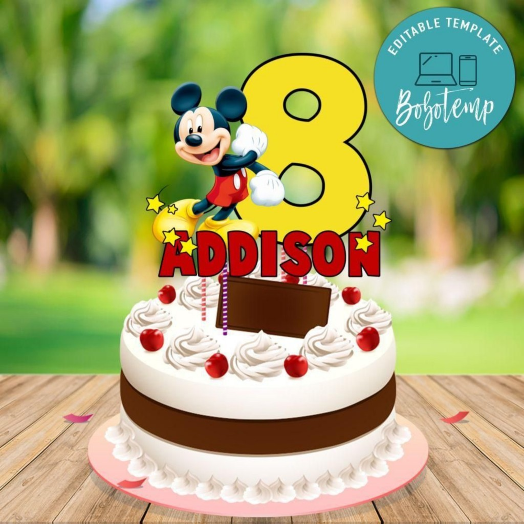 007 Top Mickey Mouse Face Cake Template Printable Inspiration Large