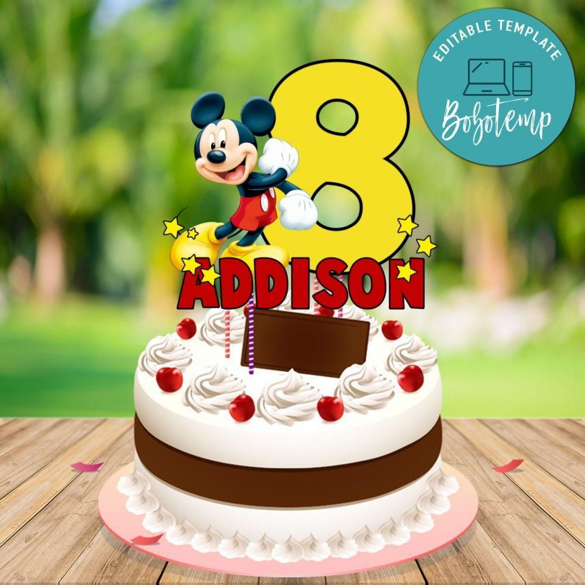 007 Top Mickey Mouse Face Cake Template Printable Inspiration 1920