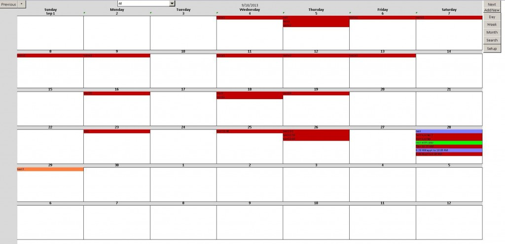 007 Top Microsoft Excel Calendar Template High Definition  Office 2013 M Yearly 2019Large