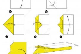 007 Top Printable Paper Plane Plan Picture  Free Airplane Template Pdf
