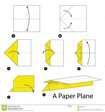 007 Top Printable Paper Plane Plan Picture  Free Airplane Template Pdf360