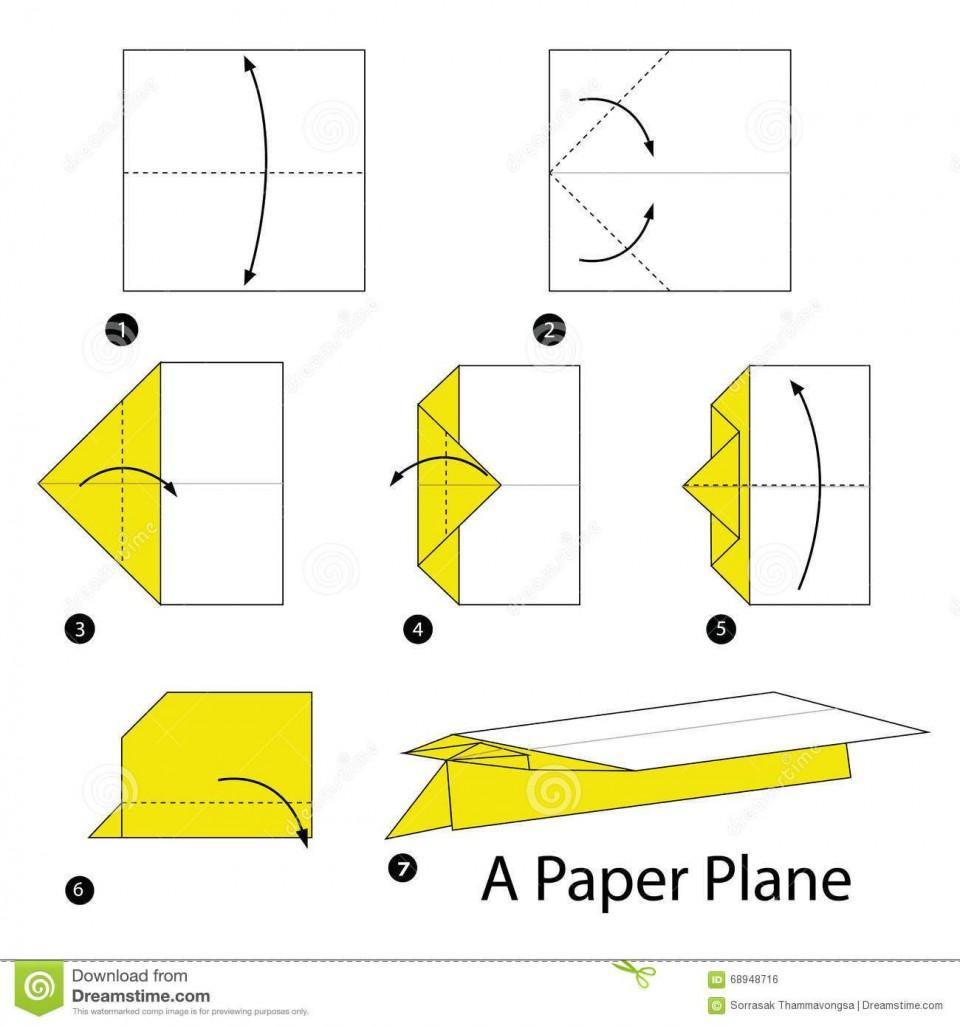 007 Top Printable Paper Plane Plan Picture  Free Airplane Template Pdf960